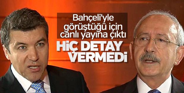 Kılıçdaroğlu Bahçeli'yle görüşmesi hakkında detay vermedi