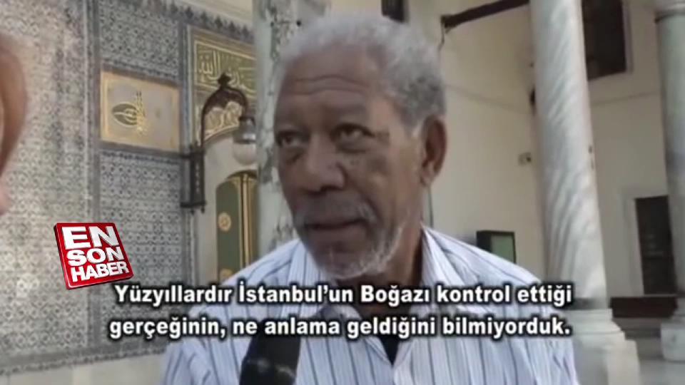 Morgan Freeman'ın İstanbul ziyareti