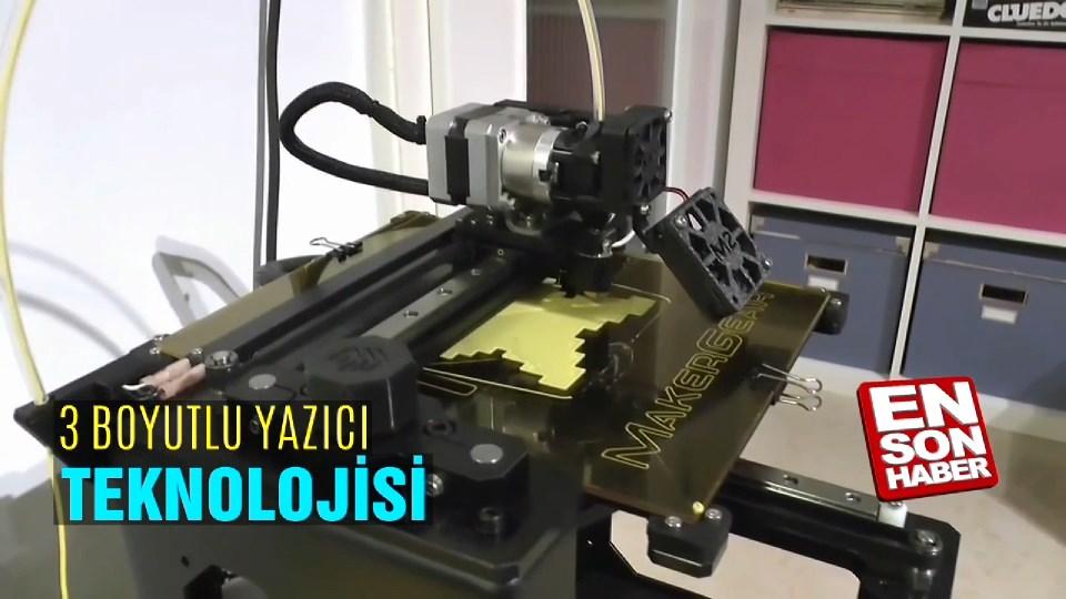 3 Boyutlu yazıcı teknolojisi
