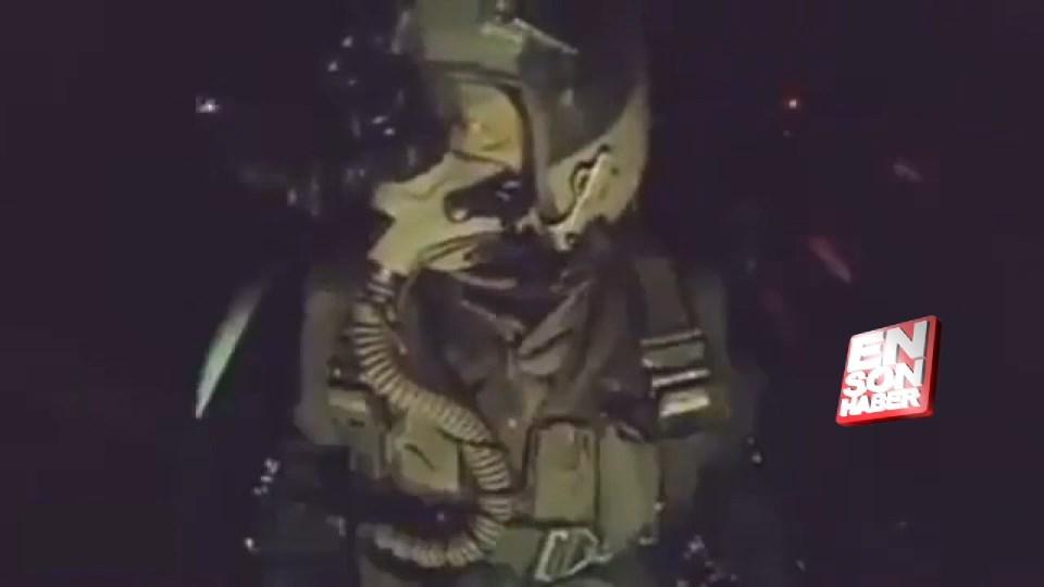 DEAŞ'a bomba yağdıran Türk pilottan Nusret taklidi