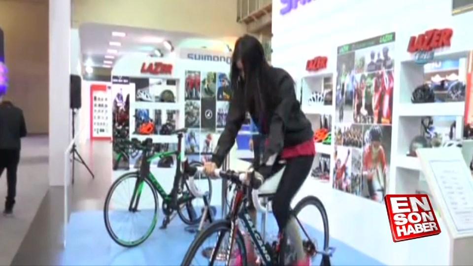 Motosiklet ve bisiklet fuarı