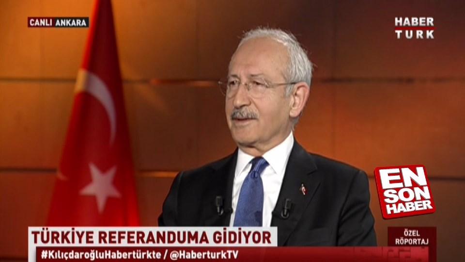 Kılıçdaroğlu: Mutlaka evet çıkacak