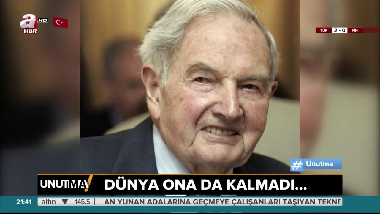 Dünyayı sömüren adam: Rockefeller