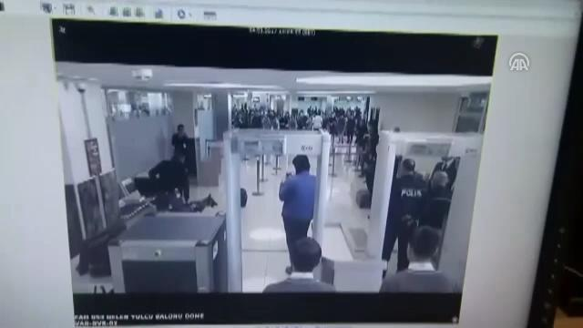 Uyuşturucuyla uçağa binmeye çalışırken yakalandı
