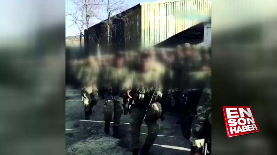 Silah arkadaşları Mehmetçik'i alkışlarla karşıladı
