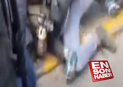 Le Pen'in korumalarından gazeteciye şiddet