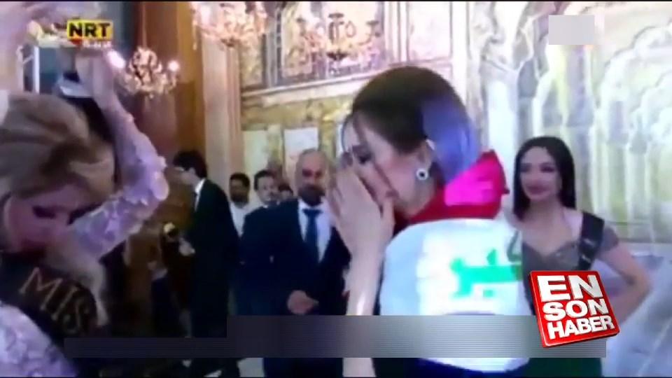 Bağdat'ta Miss Iraq 2017 güzellik yarışması