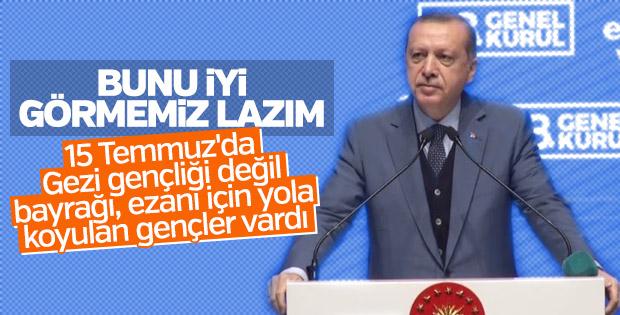 15 Temmuz'da oraya gelenler Gezi Parkı gençleri değildi