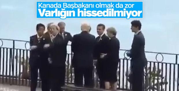 Trudeau G7'ye yaklaşamadı