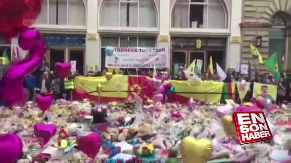 İngiltere'de terör sempatizanları terörü kınadı