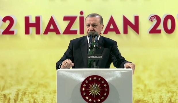 Cumhurbaşkanı Erdoğan'ın Kahramankazan konuşması