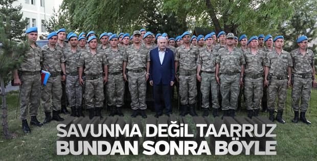Başbakan Yıldırım komandoları ziyaret etti