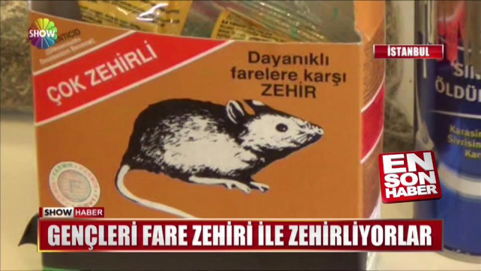 Uyuşturucu imalathanesinden fare zehiri çıktı