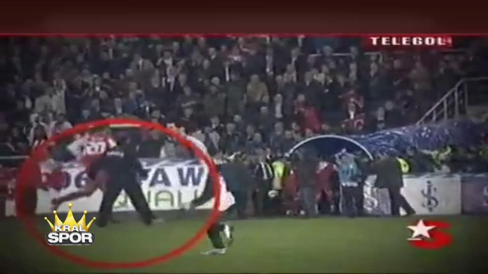 Türkiye ve İsviçre'nin 2005 yılındaki olaylı maçı
