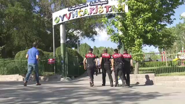 81 ilde 'Huzurlu Parklar' uygulaması gerçekleştirildi