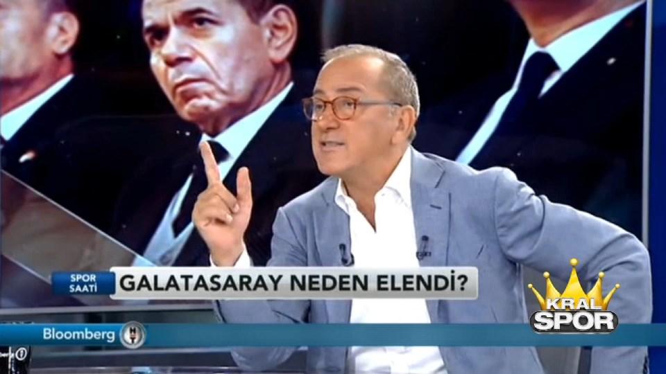 Fatih Altaylı'dan Dursun Özbek'e: Hesap vereceksin
