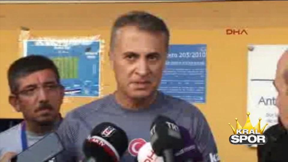 Fikret Orman: Beşiktaş'ı taraftar değil biz yönetiyoruz