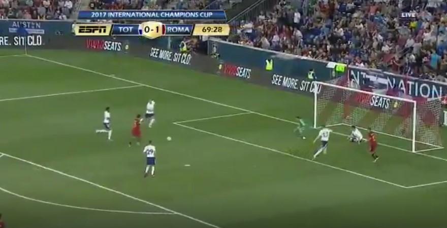 Cengiz Ünder Roma'daki ilk golünü attı