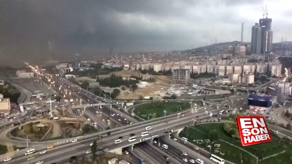 İstanbul'da 30 saniyede hava değişimi