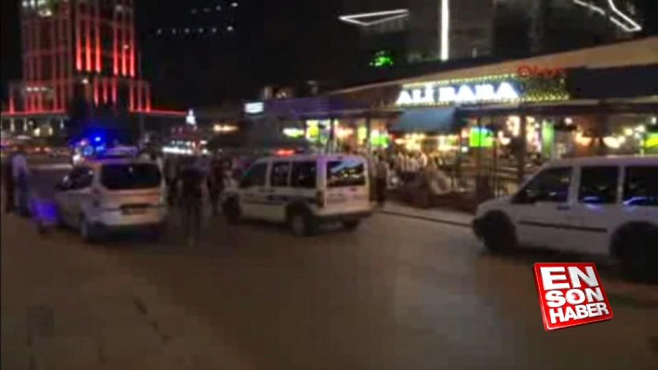 Ankara'da kafeye silahlı saldırı: 1 yaralı