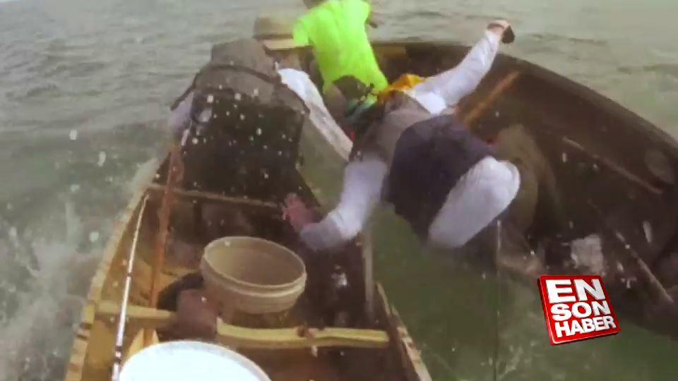Kano balıkçılarının köpekbalığı ile mücadelesi