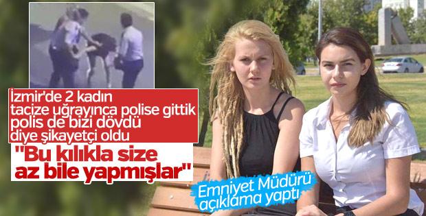 İzmir'de iki kıza polis dayağına çifte soruşturma