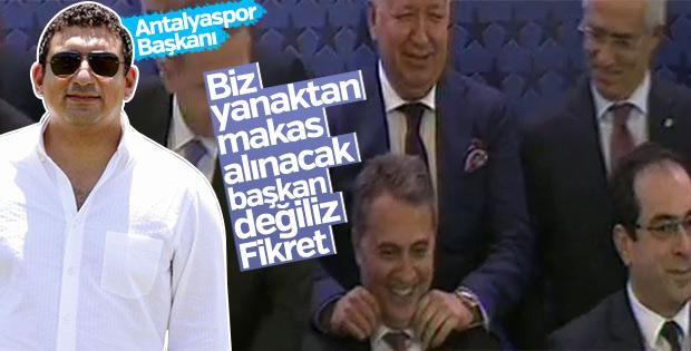 Ali Şafak Öztürk: Yanaktan makas alınacak biri değilim