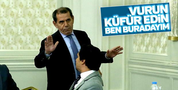 Dursun Özbek: Küfredebilirsiniz ben buradayım