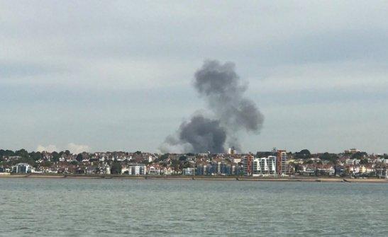 Londra Southend Havalimanı'nda patlama