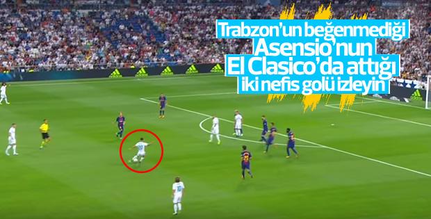 Asensio'nun Barcelona'ya attığı nefis goller