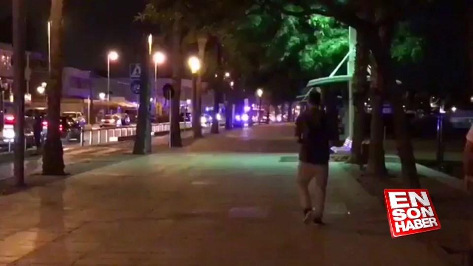 İspanya Cambrils'te terör operasyonu