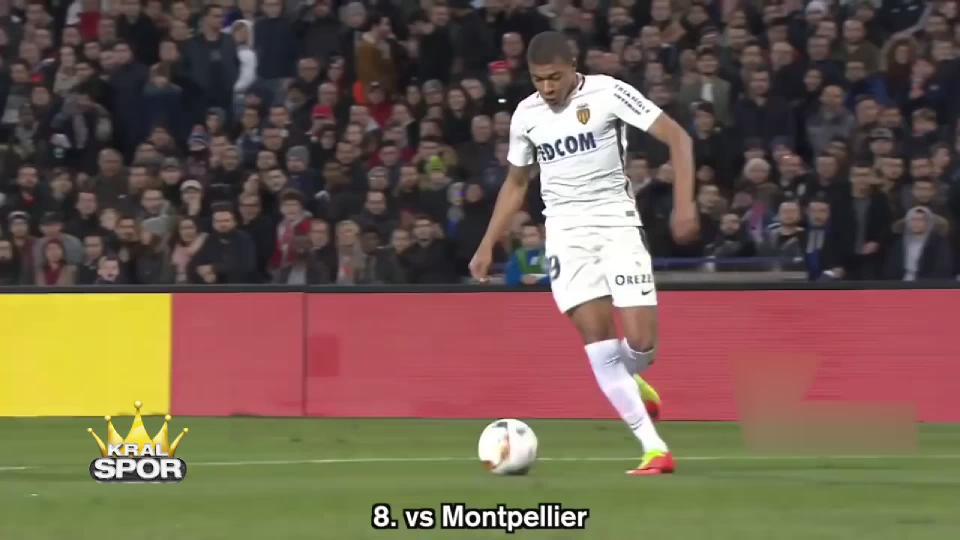 Kylian Mbappe'nin Monaco formasıyla attığı 15 gol