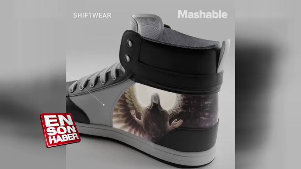 Deseni değişebilen ayakkabı ShiftWear