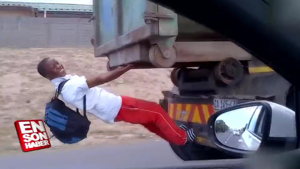 Trafikte karşılaşılmış birbirinden ilginç görüntüler