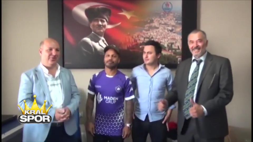 Alanzinho'nun Sinopspor'a transfer oldu.