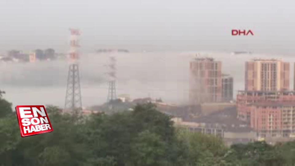 İstanbul'un bazı bölgelerinde sis etkili oldu