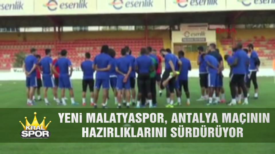 Yeni Malatyaspor, Antalyaspor maçının hazırlıklarını sürdürüyor