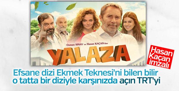 TRT 1'in yeni dizisi: YALAZA