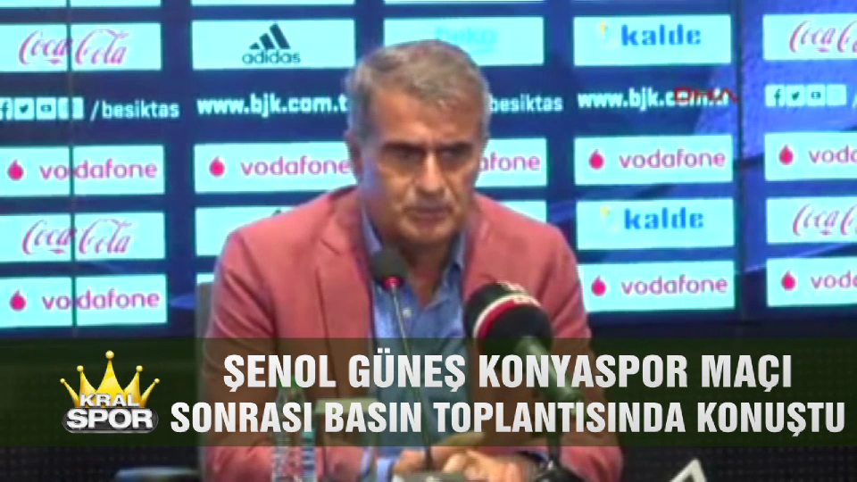 Şenol Güneş Konyaspor maçını değerlendirdi