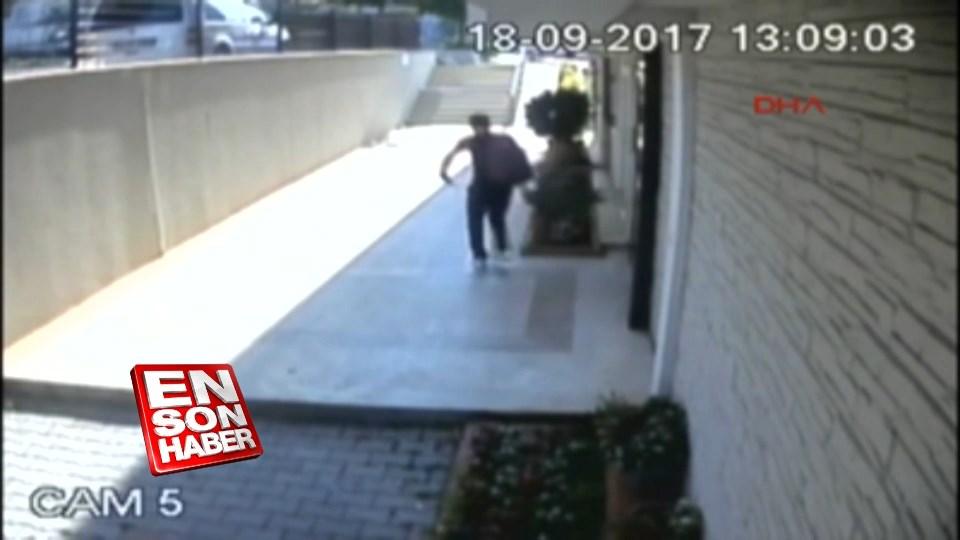 Hırsızlar yarım saat arayla aynı binaya iki kere girdiler