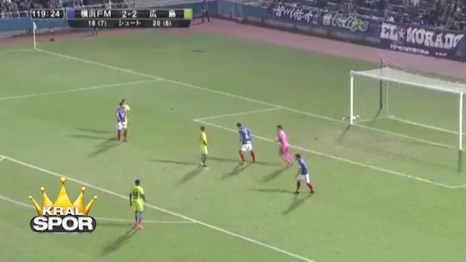 Hugo Vieira yanlışlıkla harika bir gol attı