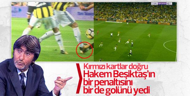 Rıdvan Dilmen: Beşiktaş'ın golü ve penaltısı verilmedi