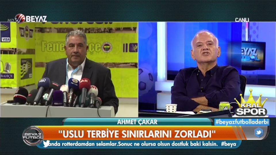 Ahmet Çakar'dan Mahmut Uslu'ya ağır sözler