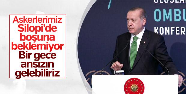 Erdoğan net konuştu: Kürt devleti oluşumlarına izin yok