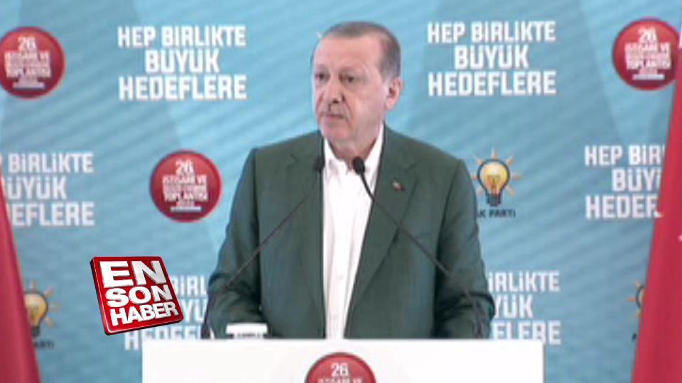 Cumhurbaşkanı Erdoğan: Değişim milletin talebi