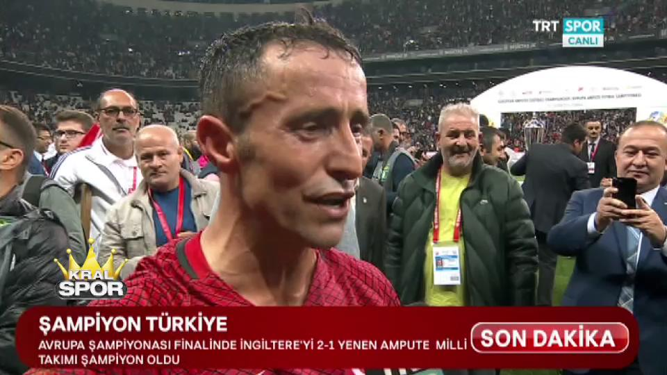 Gazi Osman Çakmak: Ampute futbol Türkiye'den sorulacak