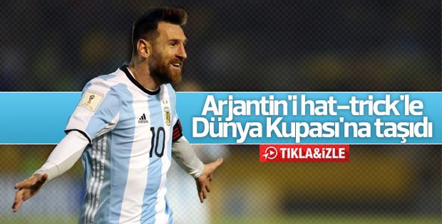 Ekvador Arjantin maçının golleri