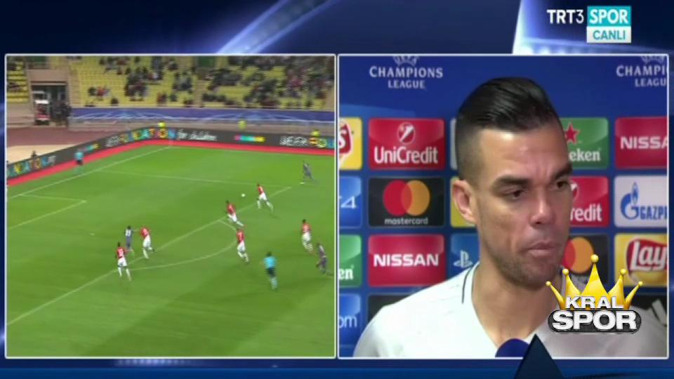 Pepe Monaco maçı sonrası konuştu