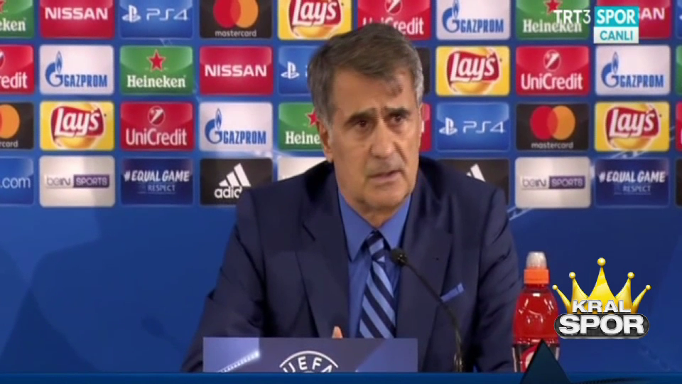 Şenol Güneş Monaco maçı sonrası basın toplantısında konuştu