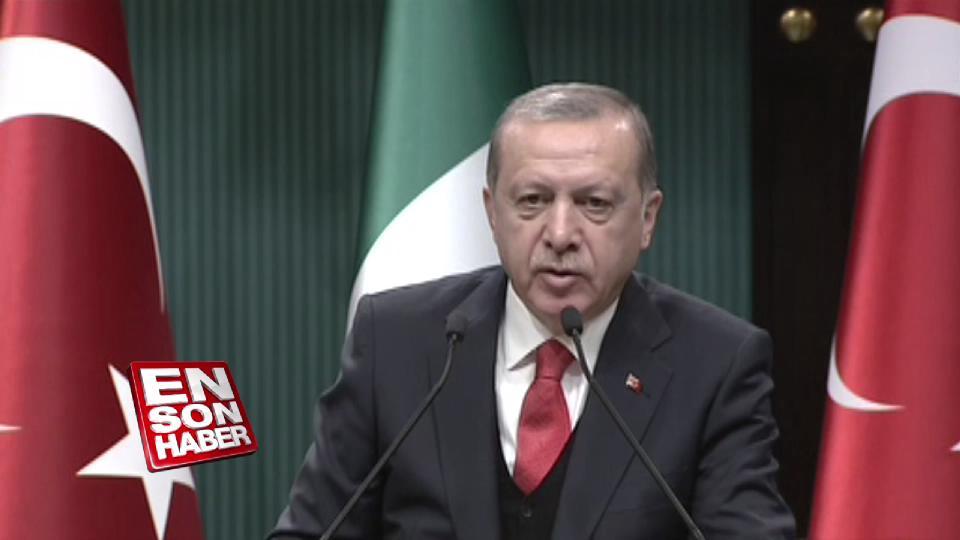 Erdoğan: 3 başkan da istifasını verecektir